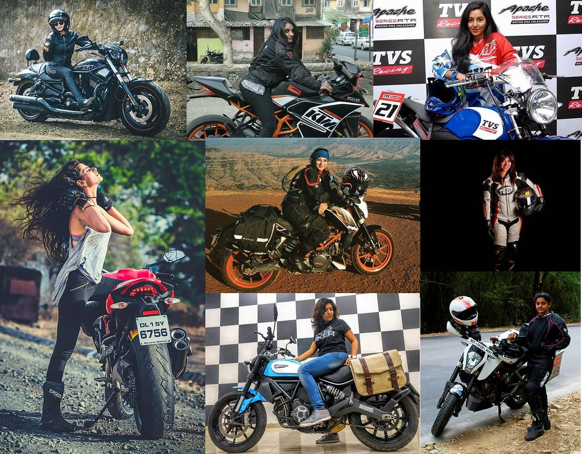 How do India's women riders define Thrill of Riding?