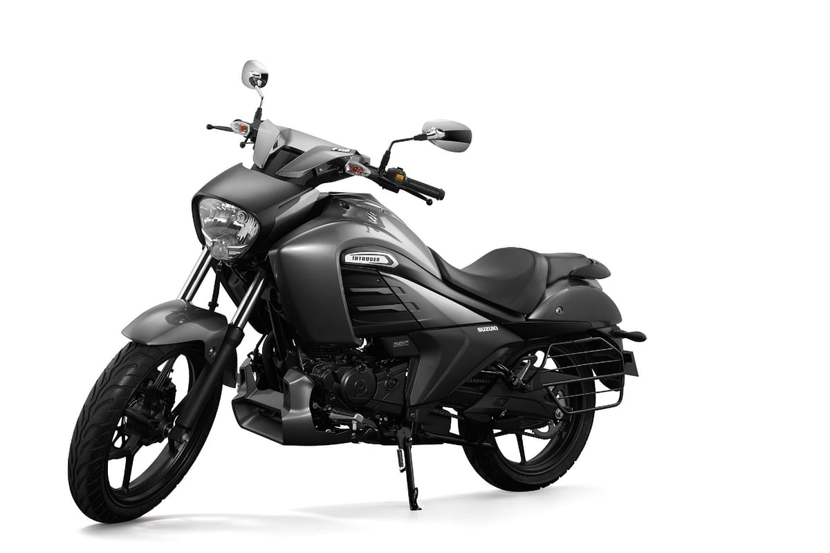Suzuki Intruder Fi variant launched at Rs. 1.07 lakh