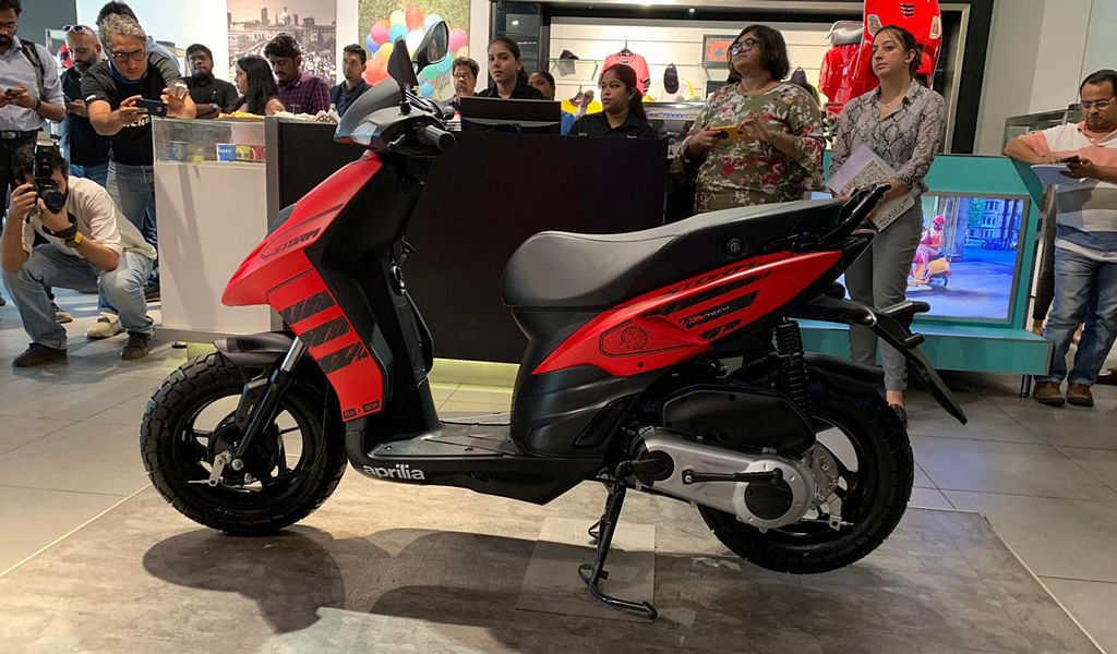 Piaggio launches the Aprilia Storm at Rs 65,000 ex-showroom India
