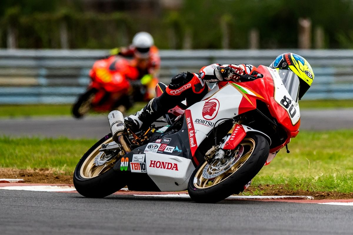 Honda's Indian team takes their maiden ARRC podium finish on home turf