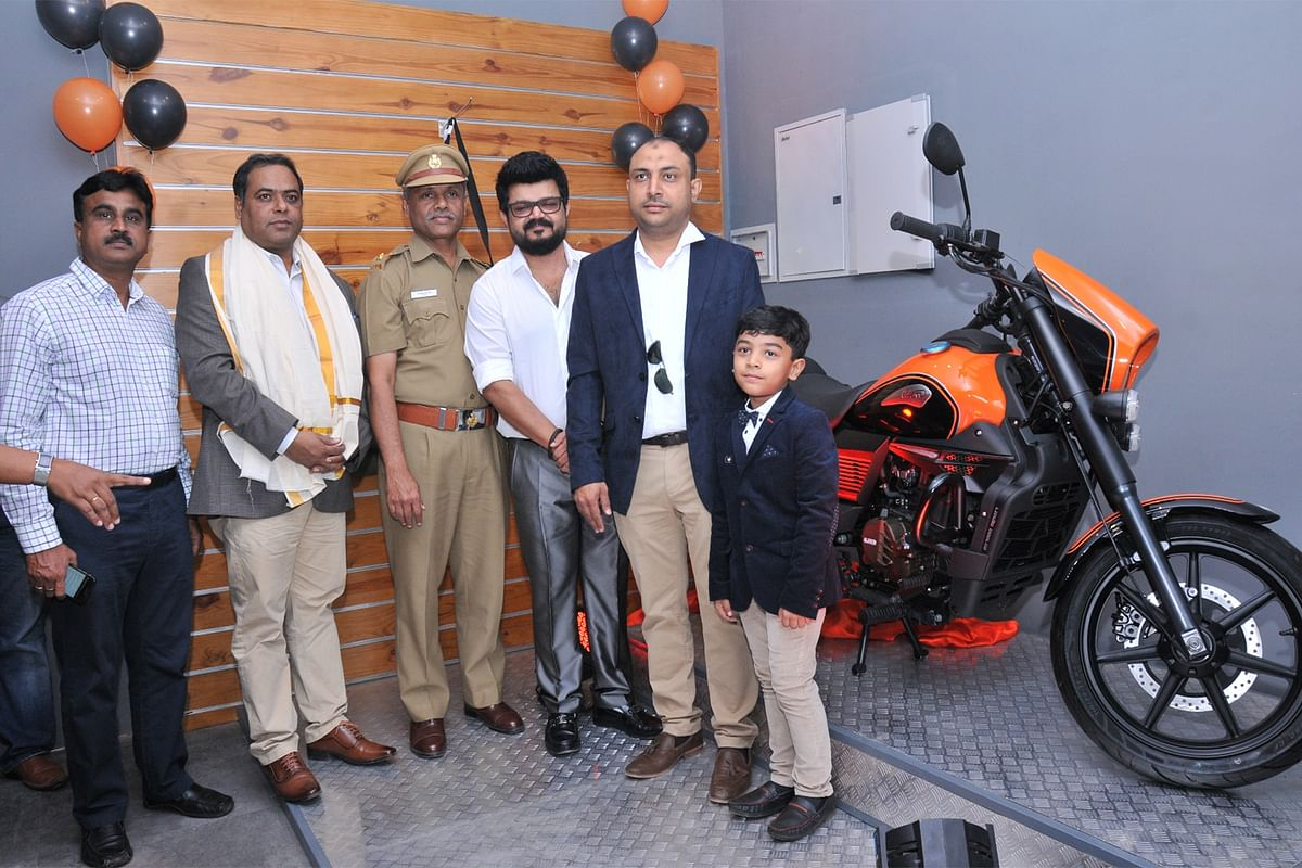 UM Motorcycles opens their first dealership in Kerala