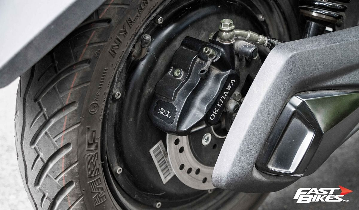Rear disc offered as standard fitment
