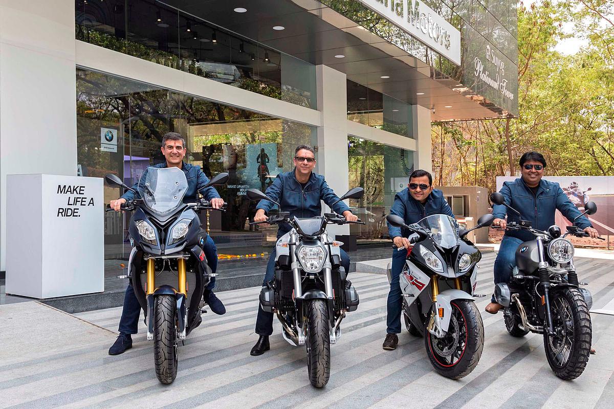 BMW Motorrad rides into Pune