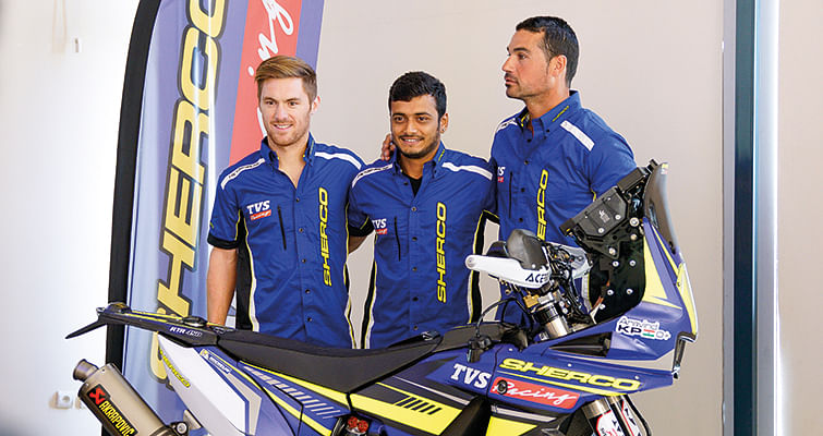 TVS Racing Diaries: Chatting With Aravind K P