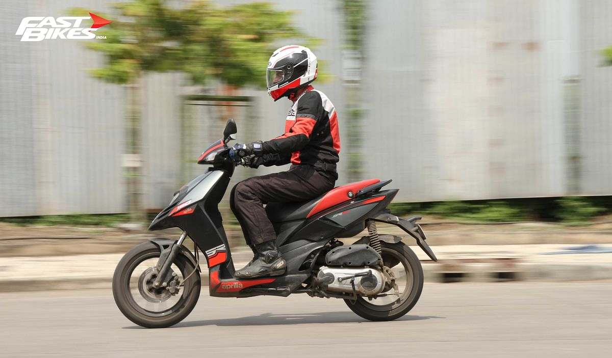 Long term: Aprilia SR150