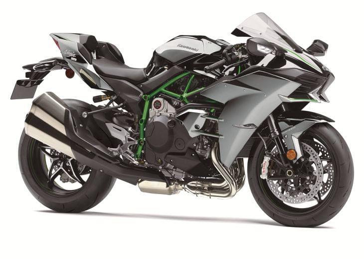 Kawasaki announces a more powerful Ninja H2 for 2019