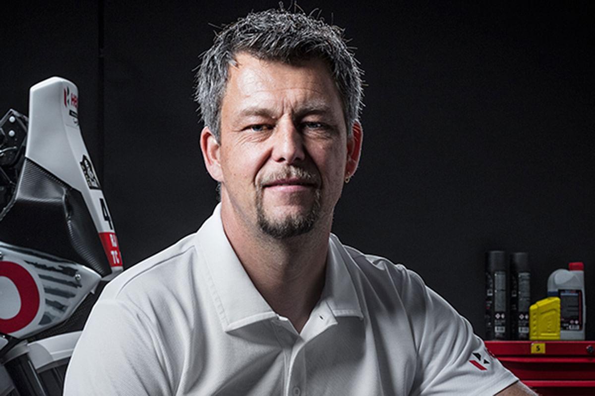 In conversation with Wolfgang Fischer on the Hero Motosports Dakar bike
