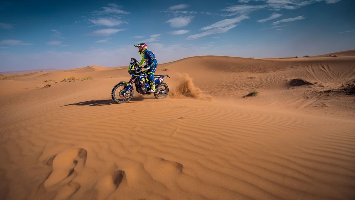 Sherco TVS names Aravind KP as its fourth rider for Dakar 2019