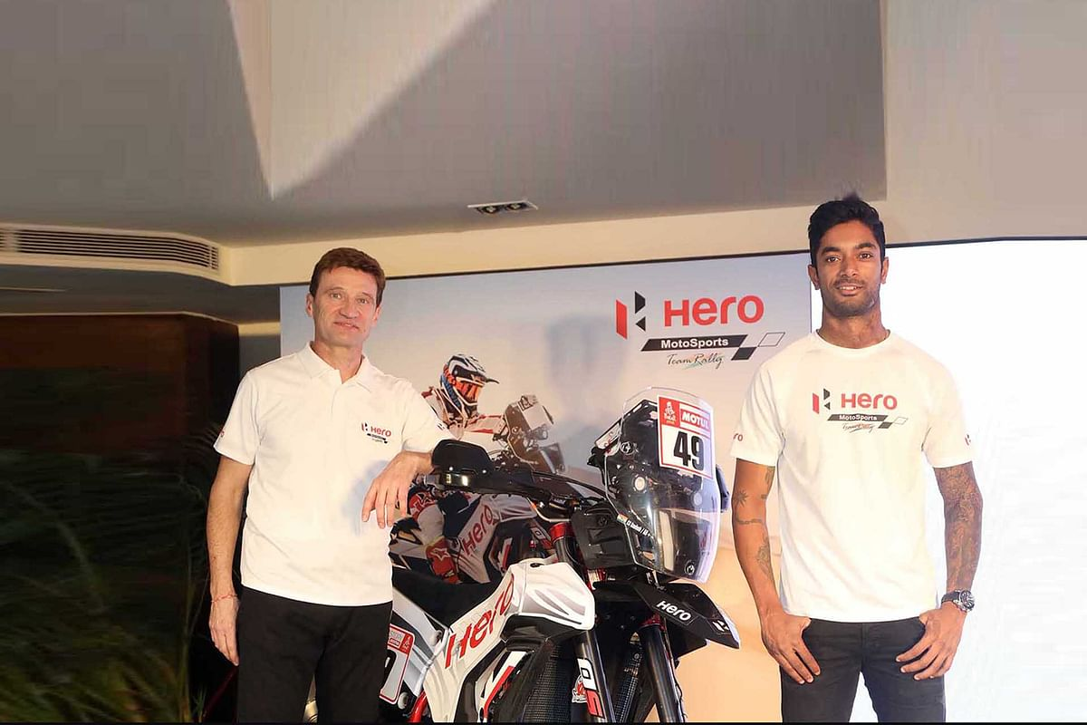 Hero RR 450 showcased for the first time in India
