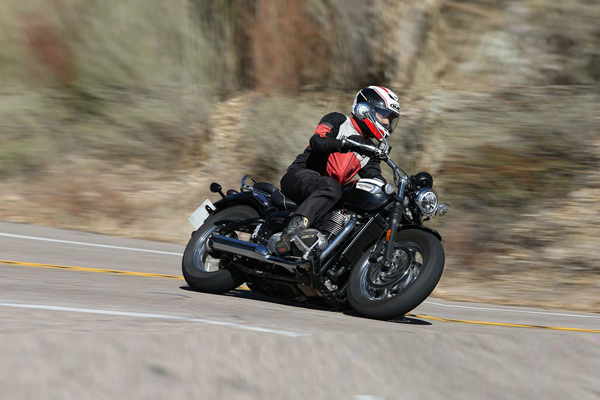 Triumph Bonneville Speedmaster First Ride