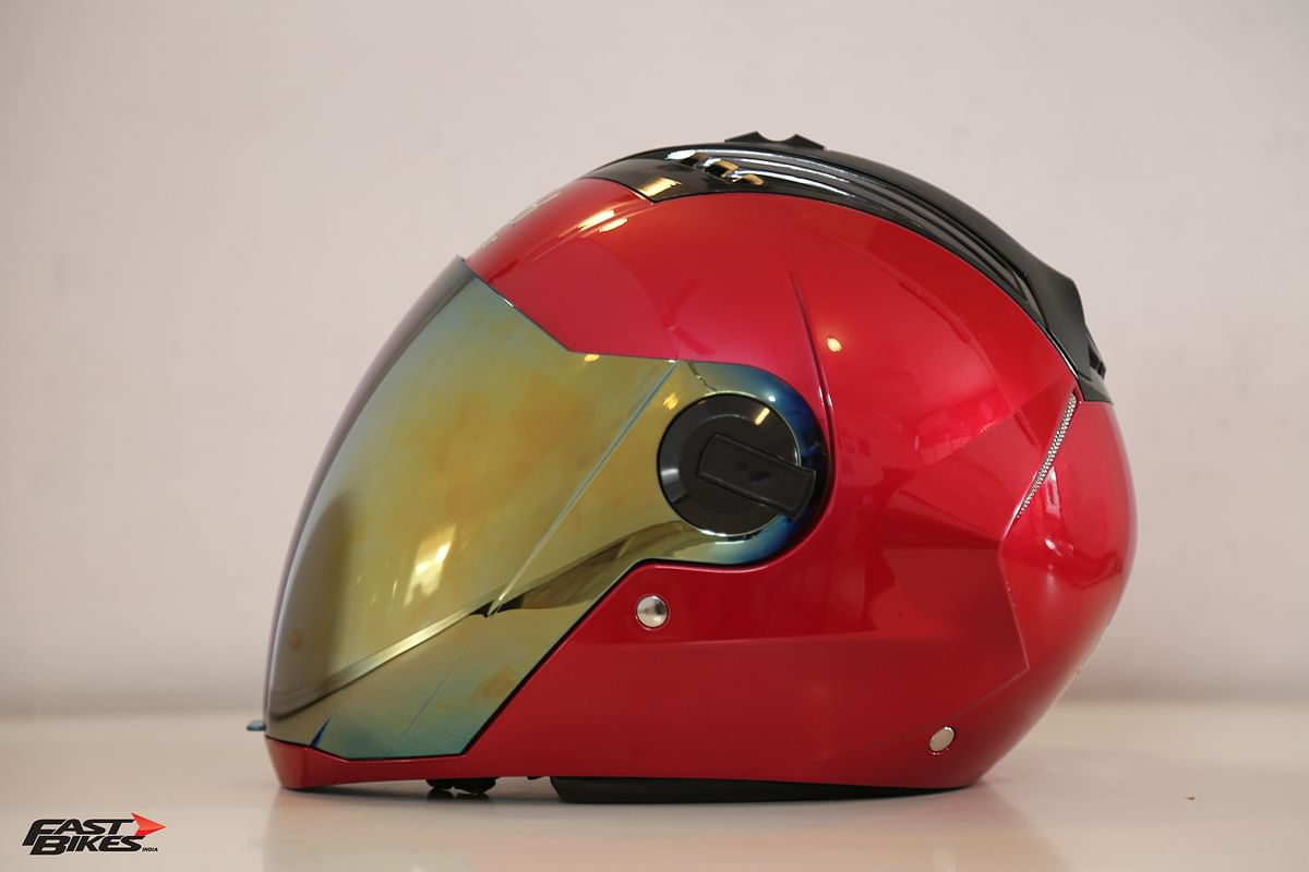 The Steelbird Air SBA-2 helmet is on trial at Fast Bikes India