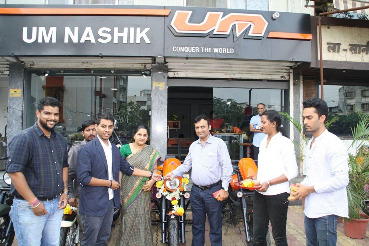 UM inaugurates new dealership in Nashik, Maharashtra