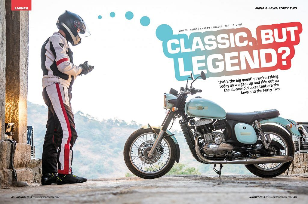 Fast Bikes India second anniversary issue –  January 2019 – On stands now!