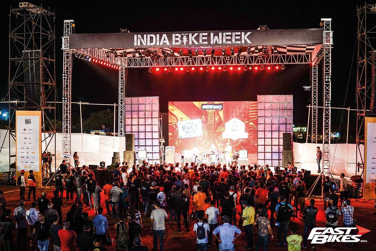 Welcome to Goa: Scenes from 2017 India Bike Week