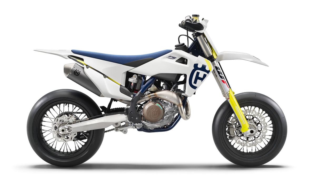 Husqvarna Motorcycles has launched the new FS 450 supermoto