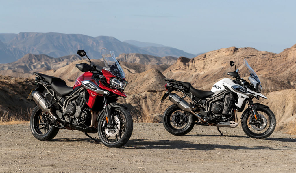 Triumph to launch three new motorcycles this year