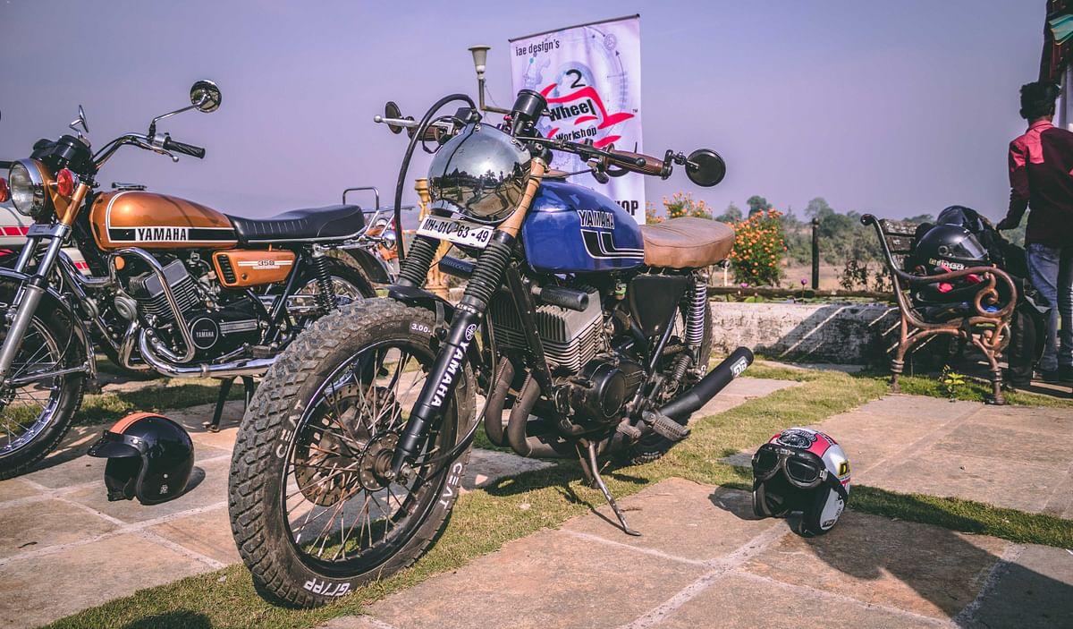 Bombay Cool & Vintage – Classic Motoheads Yamaha showcase