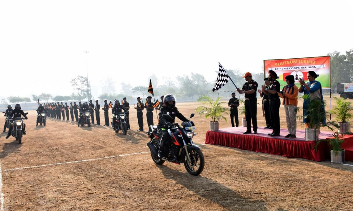 TVS flags off 'Ride of Honour' expedition in association with the Indian Army