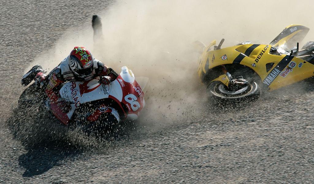 Bijoy's Blog: Injuries and motorcycling