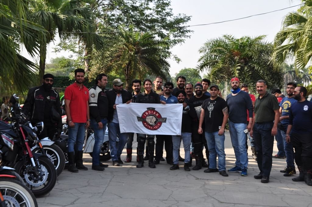 Indian Motorcycle organises ride in Chandigarh