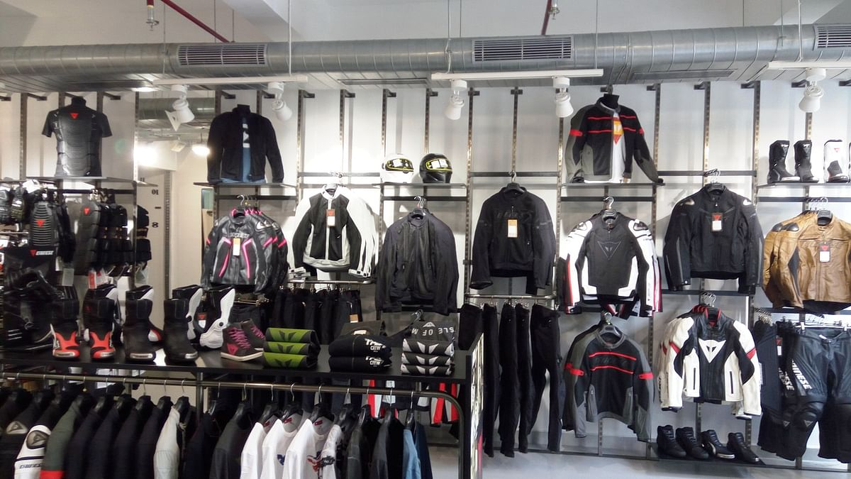 Official Dainese and AGV Store, now in Chennai