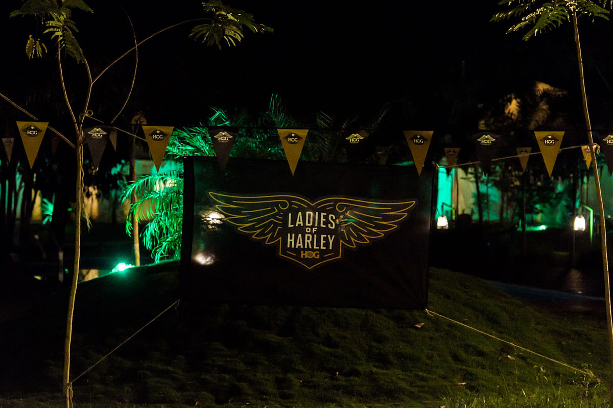 Ladies of Harley members ride to Dandeli