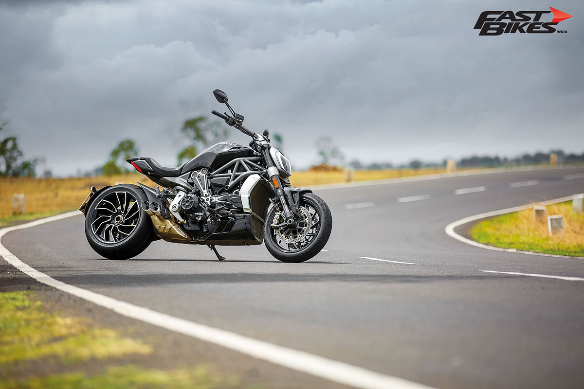 Diavel is Italian for 'devil' and the XDiavel represents the entity in the best way possible