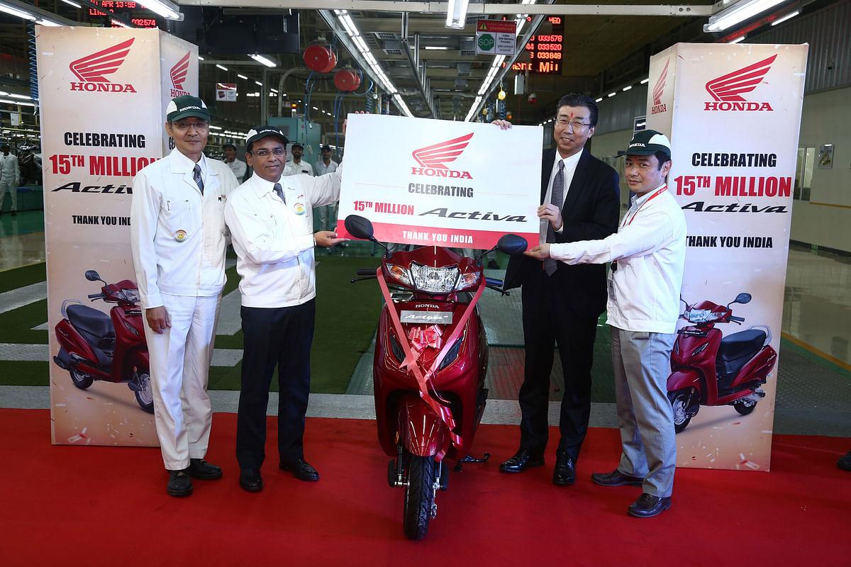 Honda Activa sells over 1.5 crore units