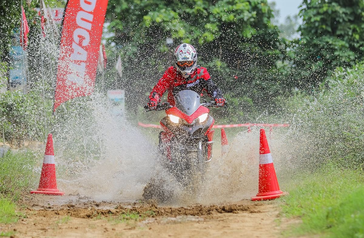 Ducati conducts its first ever DRE Off-Road Days in India