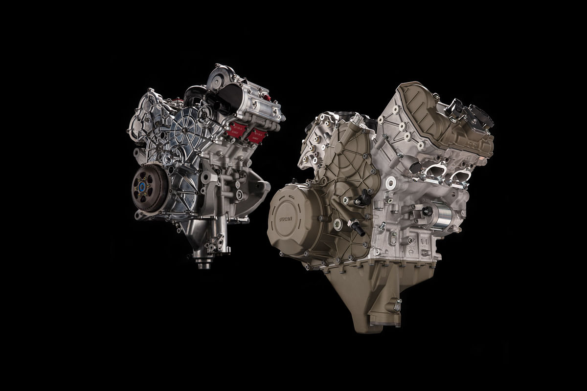 Panigale V4's engine revealed