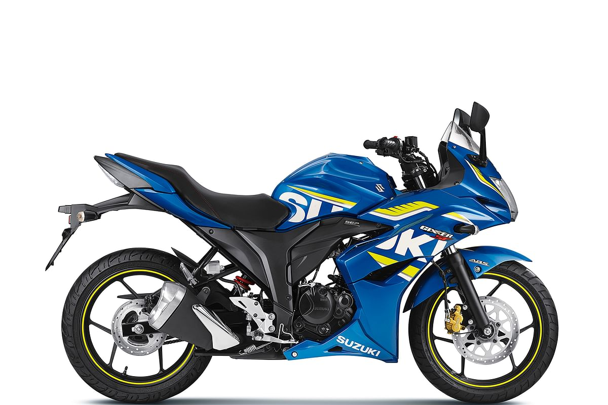 Suzuki Gixxer SF with ABS launched