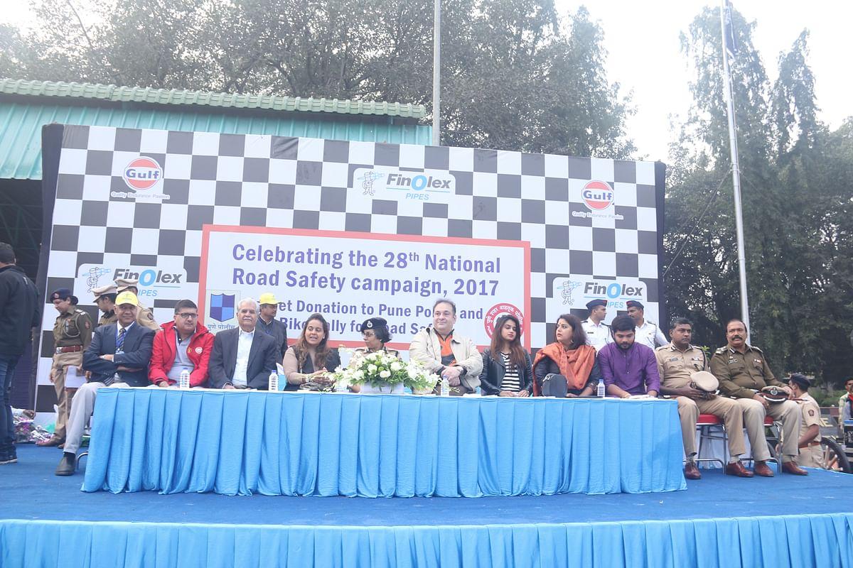 Road Safety Week rally organised in Pune