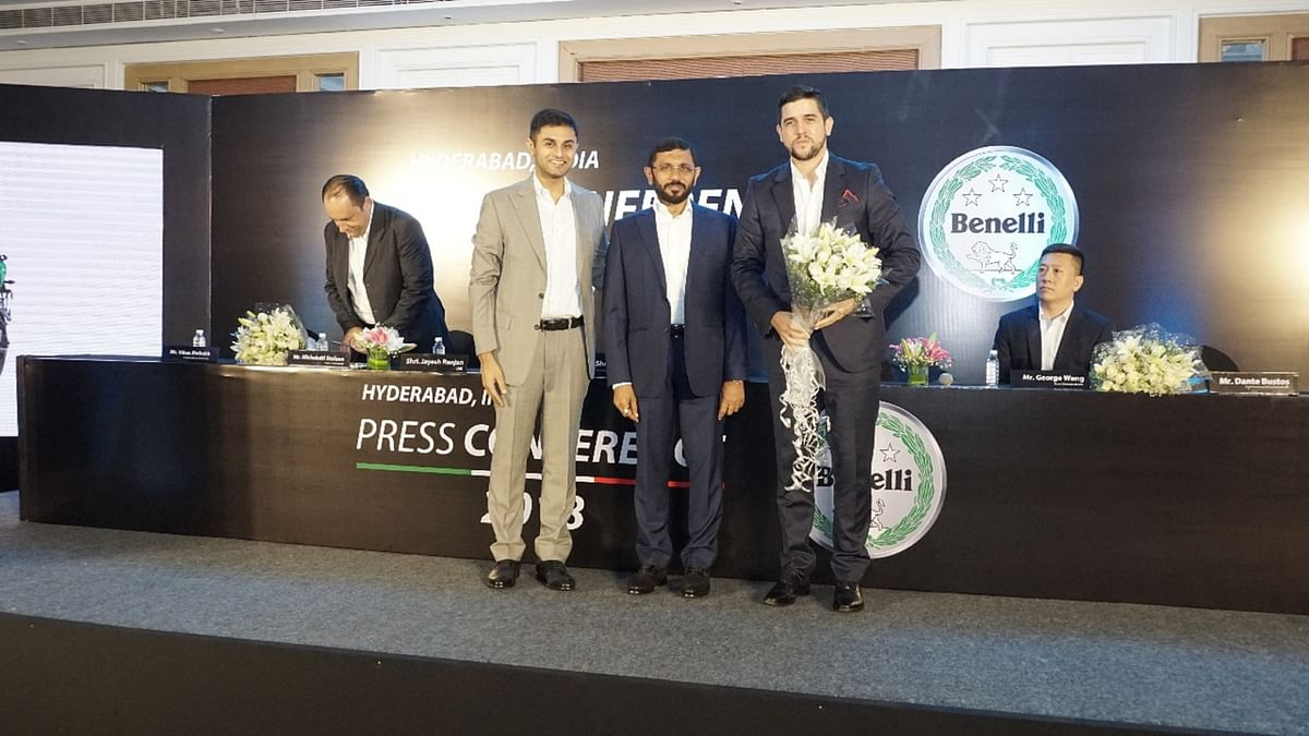 In conversation with Dantes Bustos and Vikas Jabakh about Benelli's plan for India