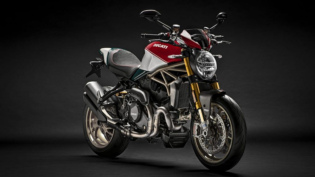 Ducati announces 25th Anniversary edition of the Monster 1200