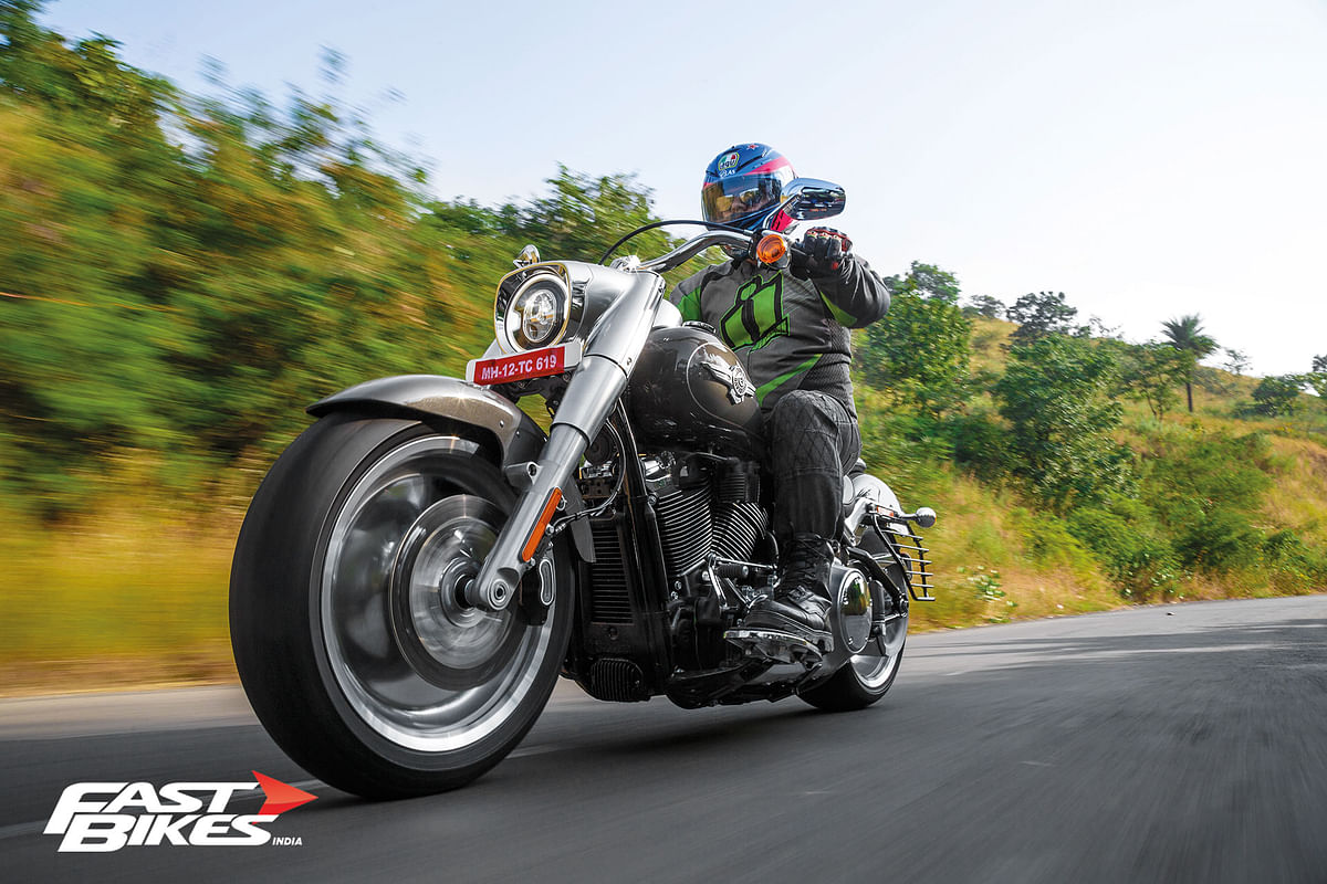 2018 Harley Davidson Fat Boy ridden
