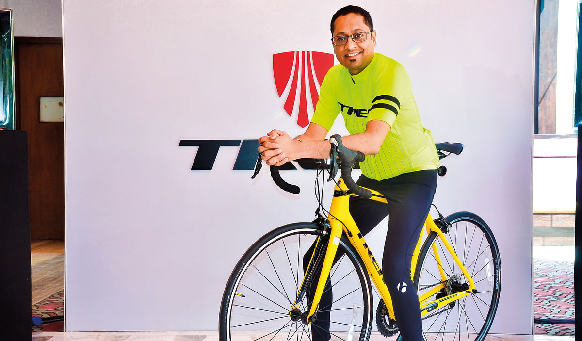 In conversation with Navneet Banka, Trek's country head