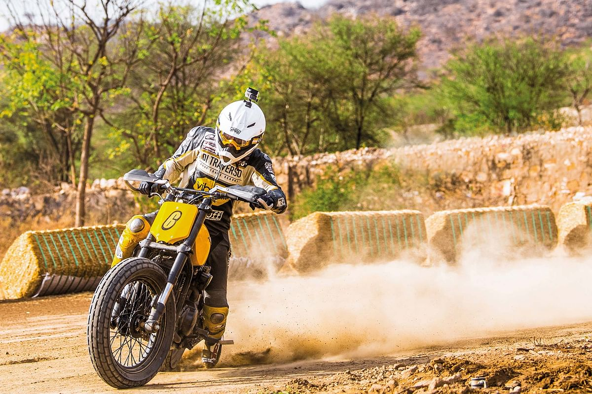 Harley-Davidson Flat Track experience in Jaipur