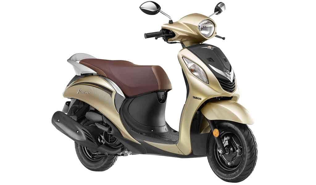 Yamaha Fascino gets a new colour scheme