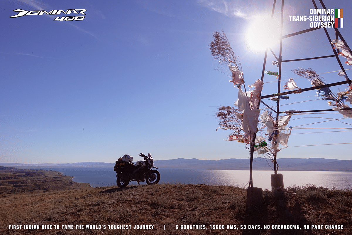 Bajaj Dominar 400 becomes first Indian bike to do a Trans-Siberian trip