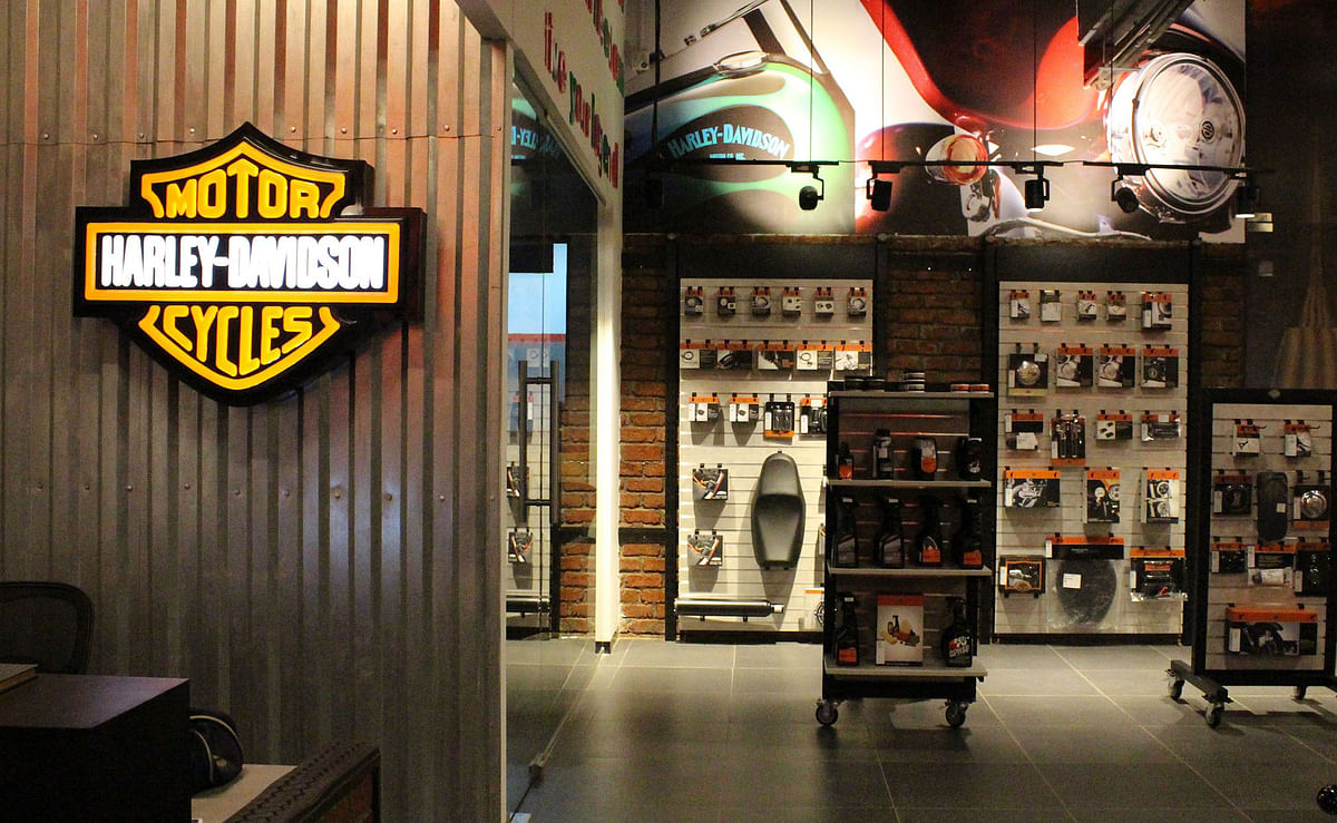 Harley-Davidson inaugurates its first concept store in India