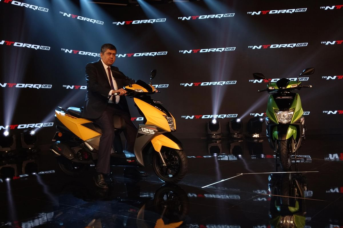TVS NTORQ 125 launched at Rs 58,750