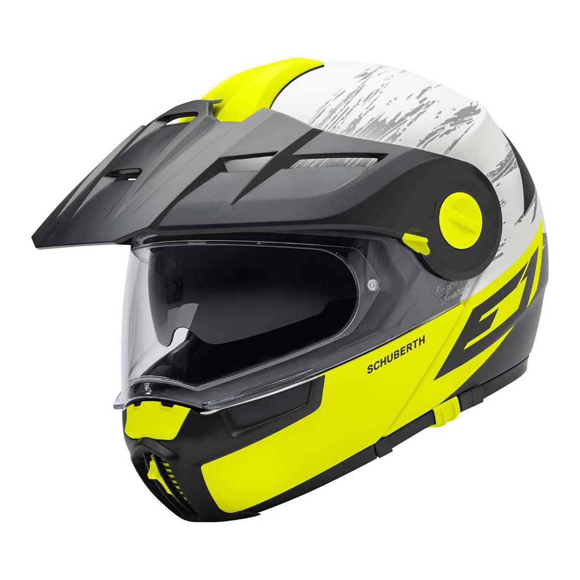 Motorcycle Gear: Schuberth E1 Crossfire helmet