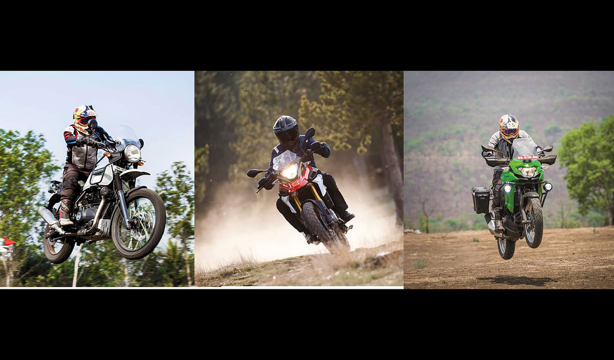 Spec comparo: BMW G 310 GS vs Royal Enfield Himalayan vs Kawasaki Versys-X 300