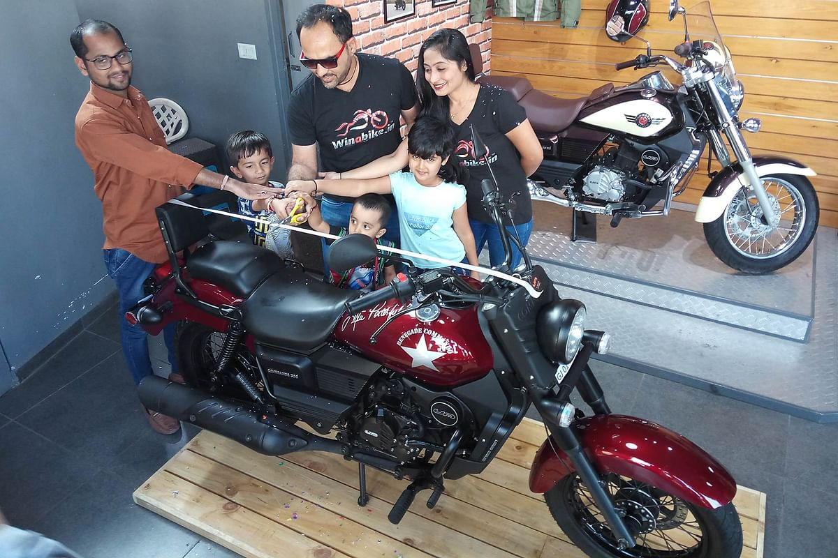 'Win a Renegade contest' winner announced by UM Motorcycles