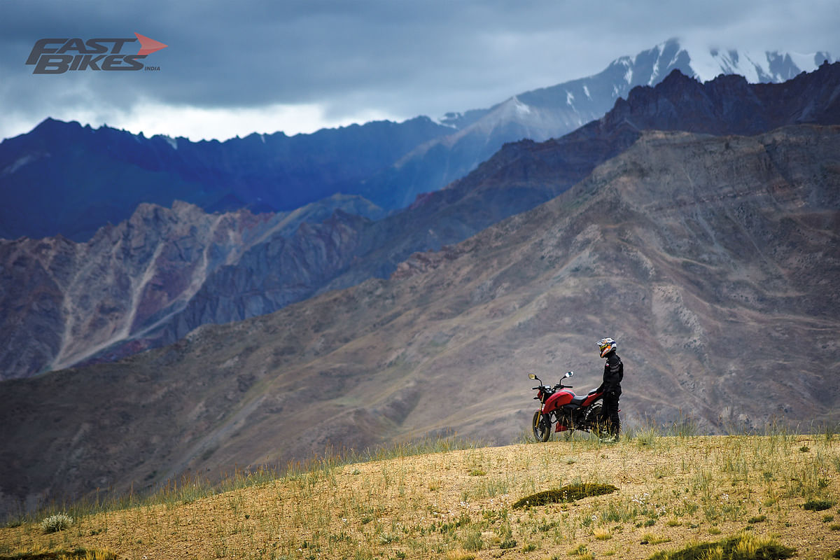 We took the Mahindra Mojo to Ladakh. Here's how it went…