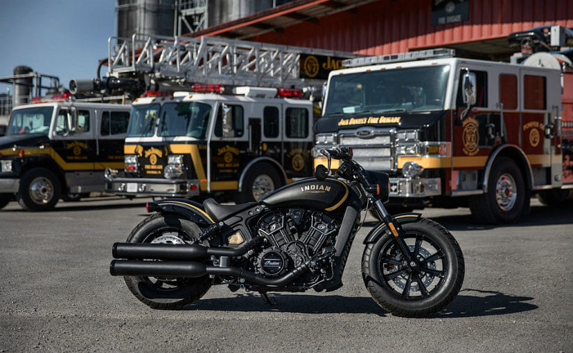 Indian Motorcycle announces Jack Daniel's Limited Edition Indian Scout Bobber