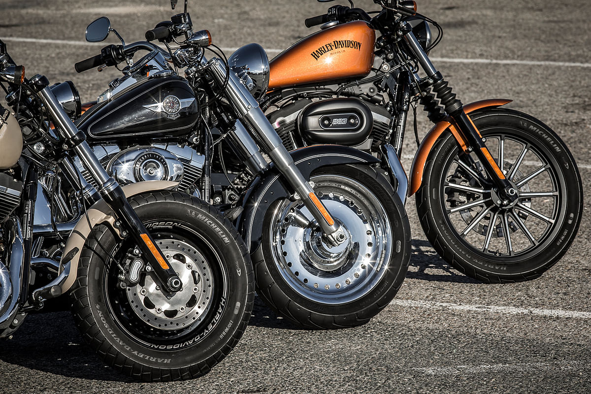 Michelin unveil tyres for Harley Davidson