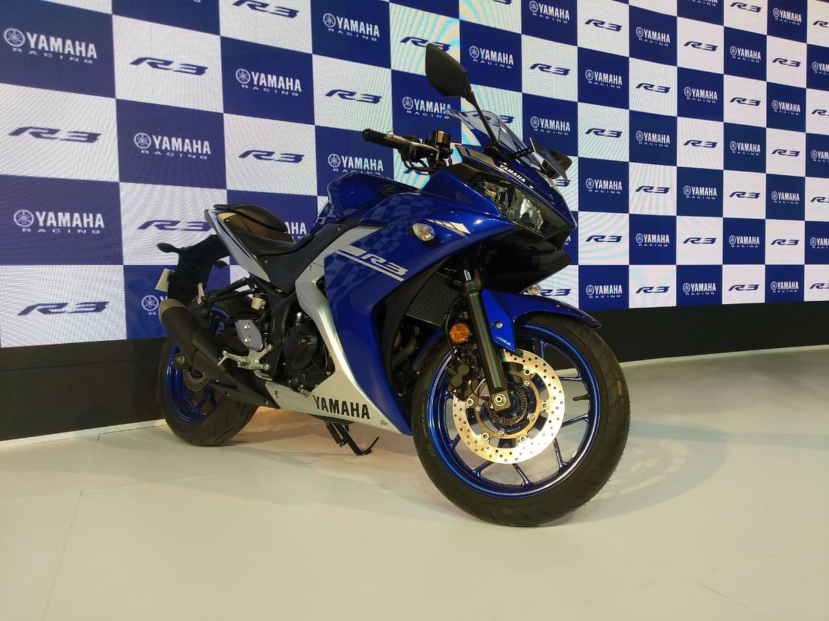 Auto Expo 2018: Yamaha R3 launched at Rs. 3.48 lakh