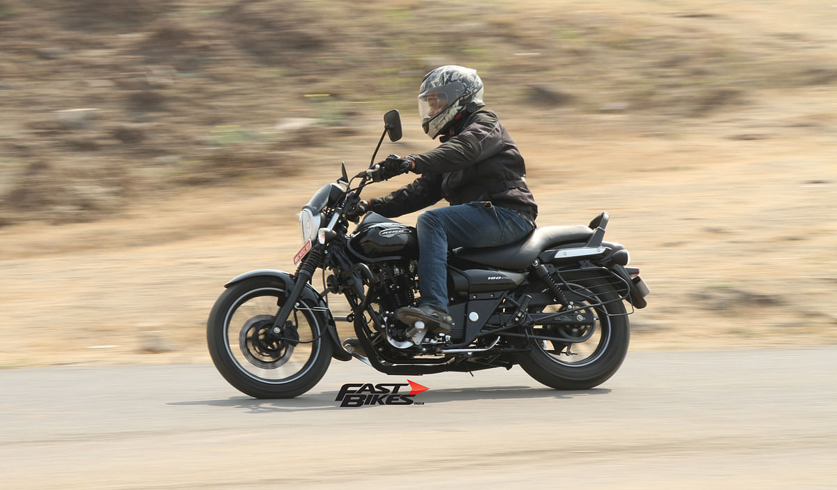 First Ride Review: Bajaj Avenger 180 Street