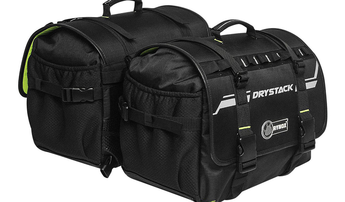 Rynox Drystack Waterproof Saddlebags